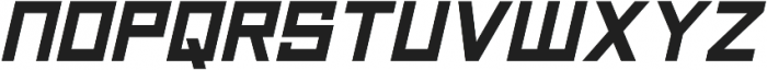 Technikolor Bold Italic otf (700) Font LOWERCASE