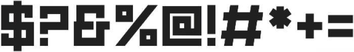 Technikolor Bold otf (700) Font OTHER CHARS