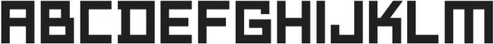 Technikolor Bold otf (700) Font LOWERCASE