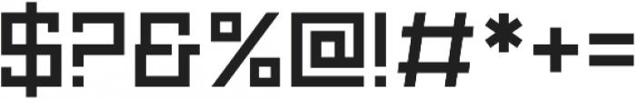 Technikolor Regular otf (400) Font OTHER CHARS