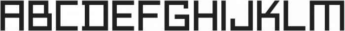 Technikolor Regular otf (400) Font LOWERCASE