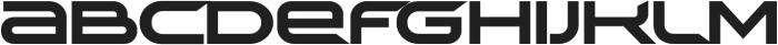 TechnoirSST Black otf (900) Font UPPERCASE