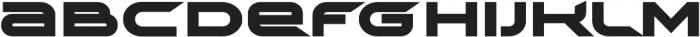 TechnoirSST Black otf (900) Font LOWERCASE