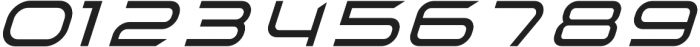 TechnoirSST Light Italic otf (300) Font OTHER CHARS