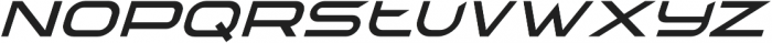 TechnoirSST Light Italic otf (300) Font LOWERCASE