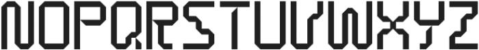 Techtape otf (400) Font UPPERCASE