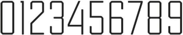 Tecnica Regular Regular otf (400) Font OTHER CHARS
