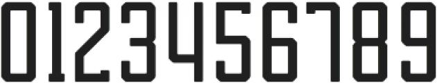 Tecnica Slab Bold Alternate Regular otf (700) Font OTHER CHARS