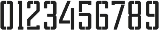 Tecnica Slab Stencil 2 Bd Regular otf (400) Font OTHER CHARS