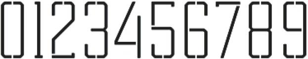 Tecnica Slab Stencil 2 Rg Regular otf (400) Font OTHER CHARS