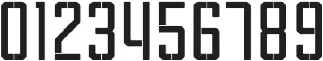 Tecnica Stencil 1 Bd Alt Regular otf (400) Font OTHER CHARS
