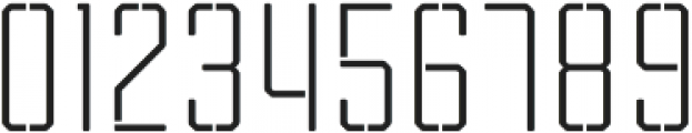 Tecnica Stencil 2 Rg Alt Regular otf (400) Font OTHER CHARS