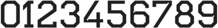 TecoSerif Light otf (300) Font OTHER CHARS