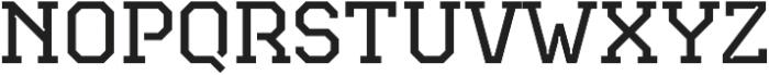 TecoSerif Light otf (300) Font UPPERCASE