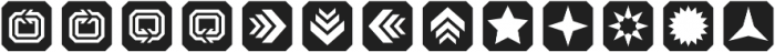 TecoSymbol Symbol otf (400) Font LOWERCASE