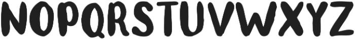 Teddy otf (400) Font UPPERCASE