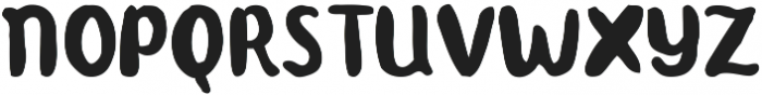 Teddy otf (400) Font LOWERCASE