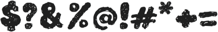 TeddyBear otf (400) Font OTHER CHARS