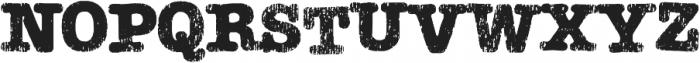 Teeshirt Regular otf (400) Font LOWERCASE