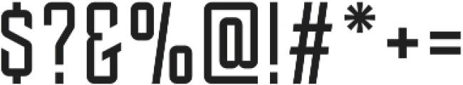 Tehaus otf (400) Font OTHER CHARS