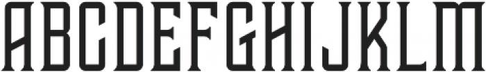 Tehaus otf (400) Font UPPERCASE
