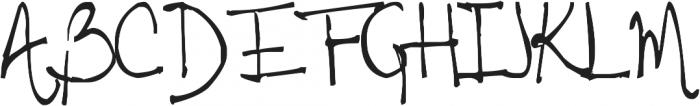 Tehzeta ttf (400) Font UPPERCASE