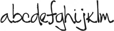 Tehzeta ttf (400) Font LOWERCASE