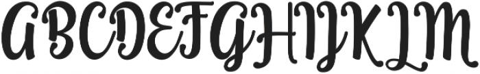 Teiqulato Script ttf (400) Font UPPERCASE