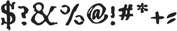 Telegdi Old Style Bold otf (700) Font OTHER CHARS