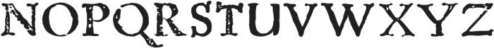 Telegdi Old Style Bold otf (700) Font UPPERCASE