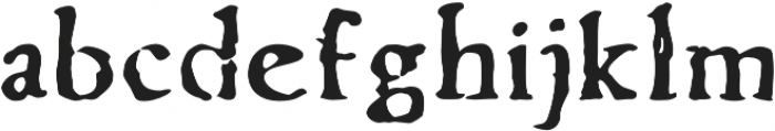 Telegdi Old Style Bold otf (700) Font LOWERCASE