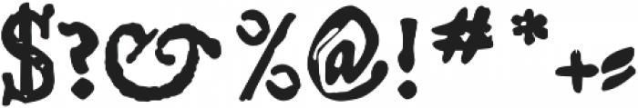 Telegdi Pro Bold SmallCaps otf (700) Font OTHER CHARS
