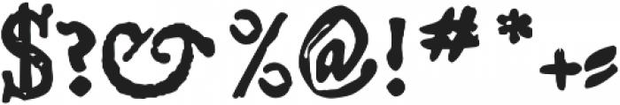 Telegdi Pro Bold otf (700) Font OTHER CHARS