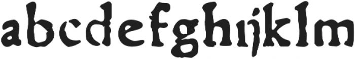 Telegdi Pro Bold otf (700) Font LOWERCASE