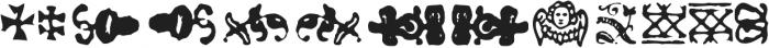 Telegdi Pro Dings otf (400) Font UPPERCASE