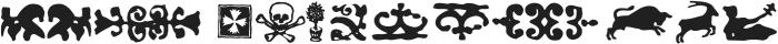 Telegdi Pro Dings otf (400) Font LOWERCASE