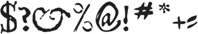 Telegdi Pro Regular otf (400) Font OTHER CHARS