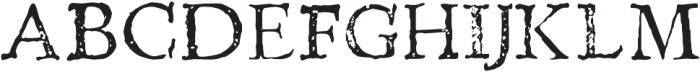 Telegdi Pro Regular otf (400) Font UPPERCASE