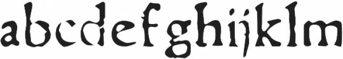 Telegdi Pro Regular otf (400) Font LOWERCASE