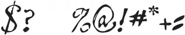 Telegdi Pro Script otf (400) Font OTHER CHARS