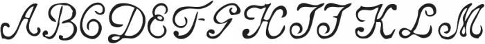 Telegdi Pro Script otf (400) Font UPPERCASE