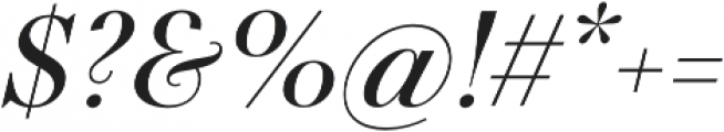 Telemaque FY Medium Italic otf (500) Font OTHER CHARS