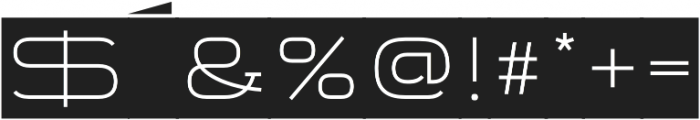 Telemark Label otf (300) Font OTHER CHARS