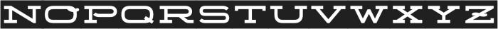 Telemark Label otf (700) Font UPPERCASE