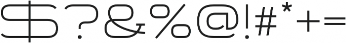 Telemark otf (300) Font OTHER CHARS