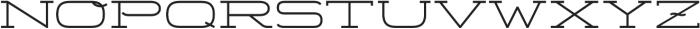 Telemark otf (300) Font LOWERCASE