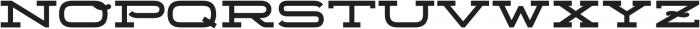Telemark otf (700) Font UPPERCASE