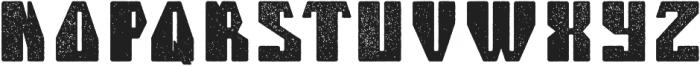 Telford Aged otf (400) Font UPPERCASE