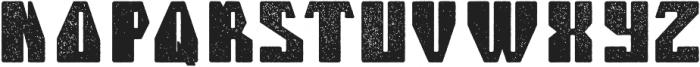 Telford Aged otf (400) Font LOWERCASE