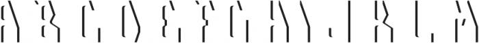 Telford LightFX otf (300) Font UPPERCASE
